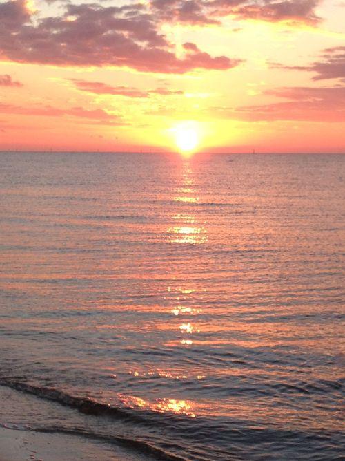 SunsetFlatWater