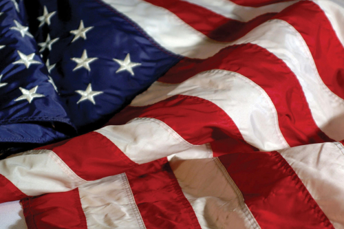 American Flag Aaron Ahlquist