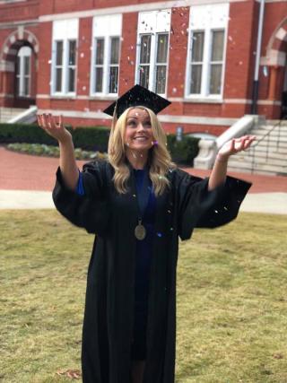 Abby Graduates